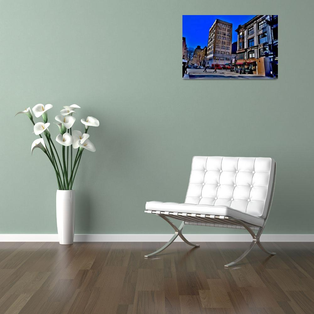 """NYC Street Scene""  (2012) by New-Yorkled"