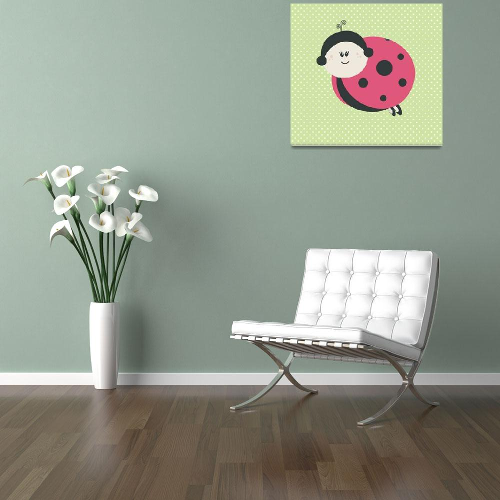 """""""Ladybug (green)&quot  by littlebubbies"""