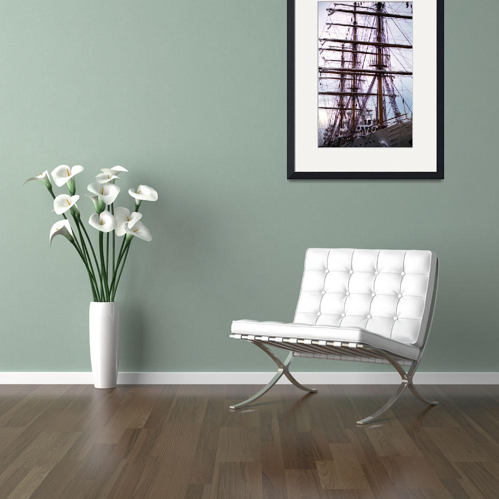 """""""Charleston Tall Ship&quot  by PadgettGallery"""