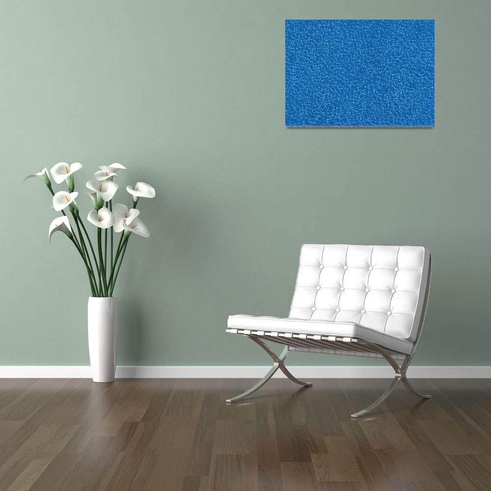 """Waipango in Blue""  (2015) by Migliore"