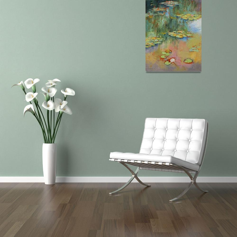 """""""Water Lily&quot  by creese"""