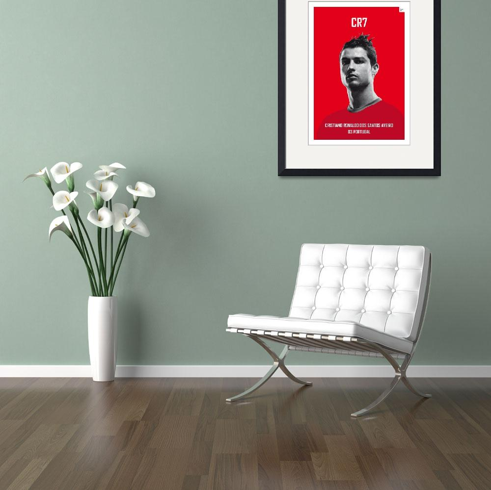 """""""My Ronaldo soccer legend poster&quot  by Chungkong"""