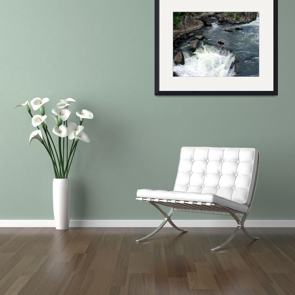 """""""Great Falls I&quot  (2007) by artlodesigns"""