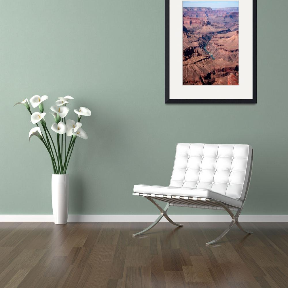 """""""Grand Canyon Rapids 0002&quot  (2009) by rayjacque"""