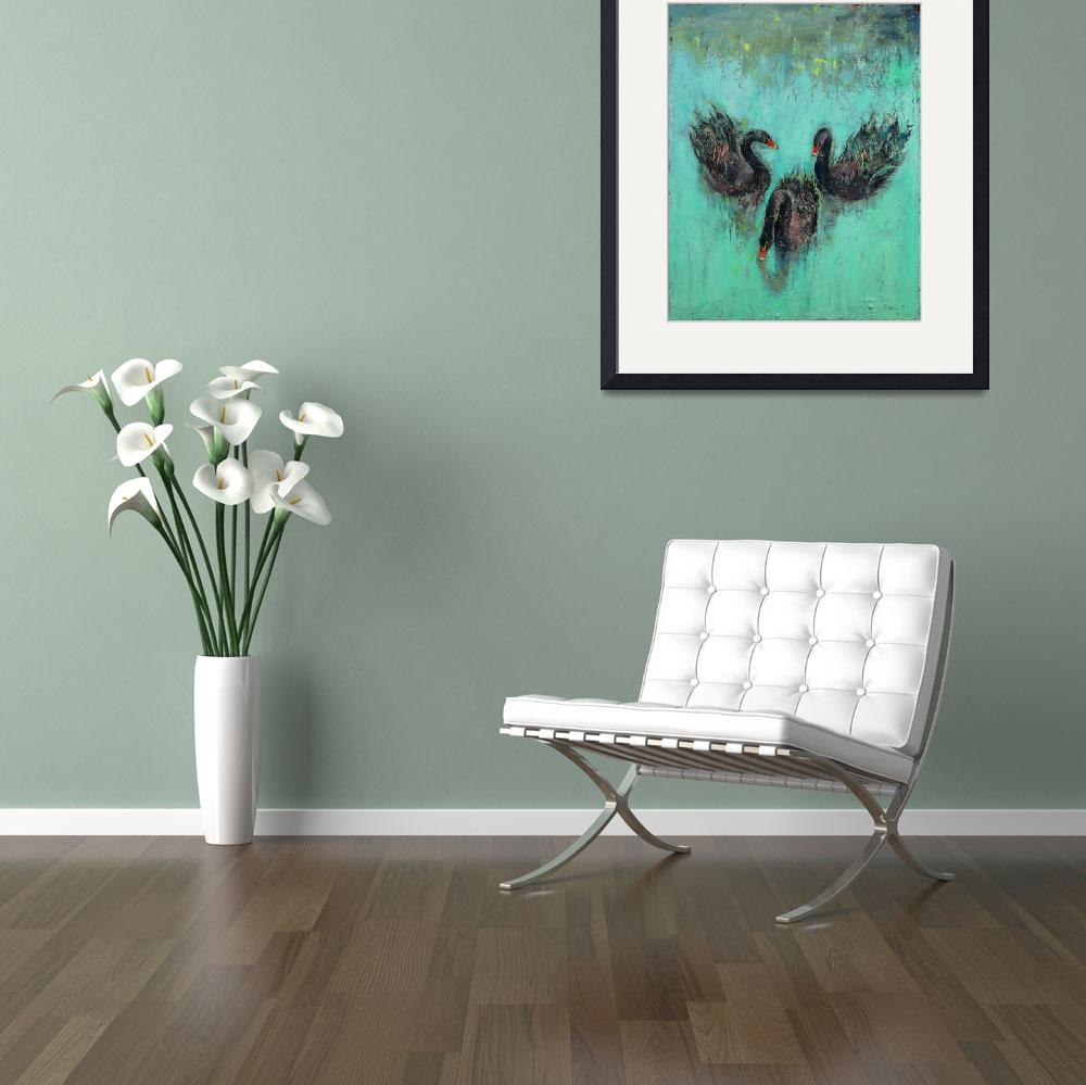 """""""Black Swans""""  by creese"""