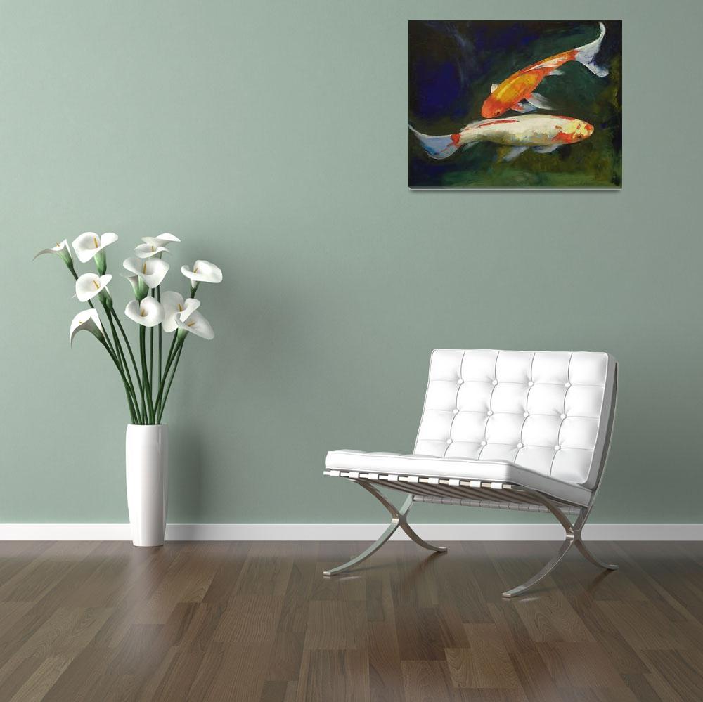 """Feng Shui Koi Fish""  by creese"
