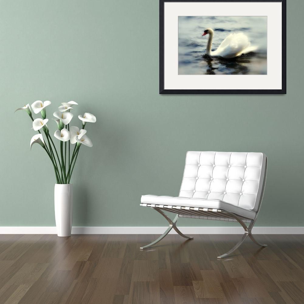 """""""Swan&quot  (2008) by mmersdesign"""
