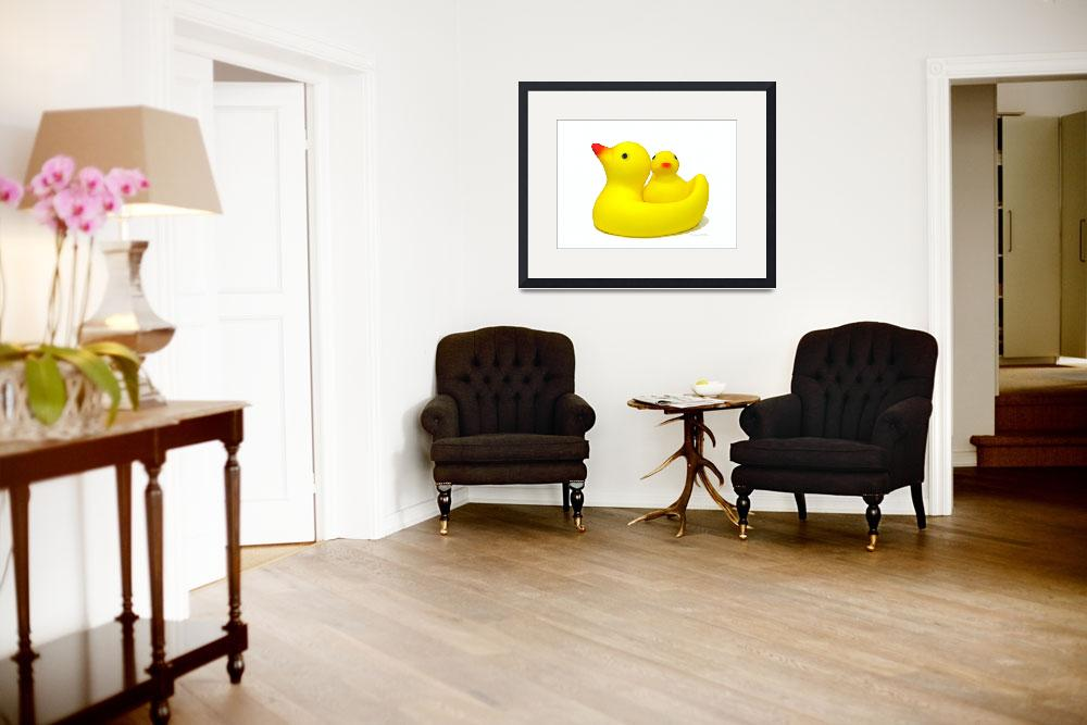 """""""Just Ducky""""  (2007) by daisyjoan"""