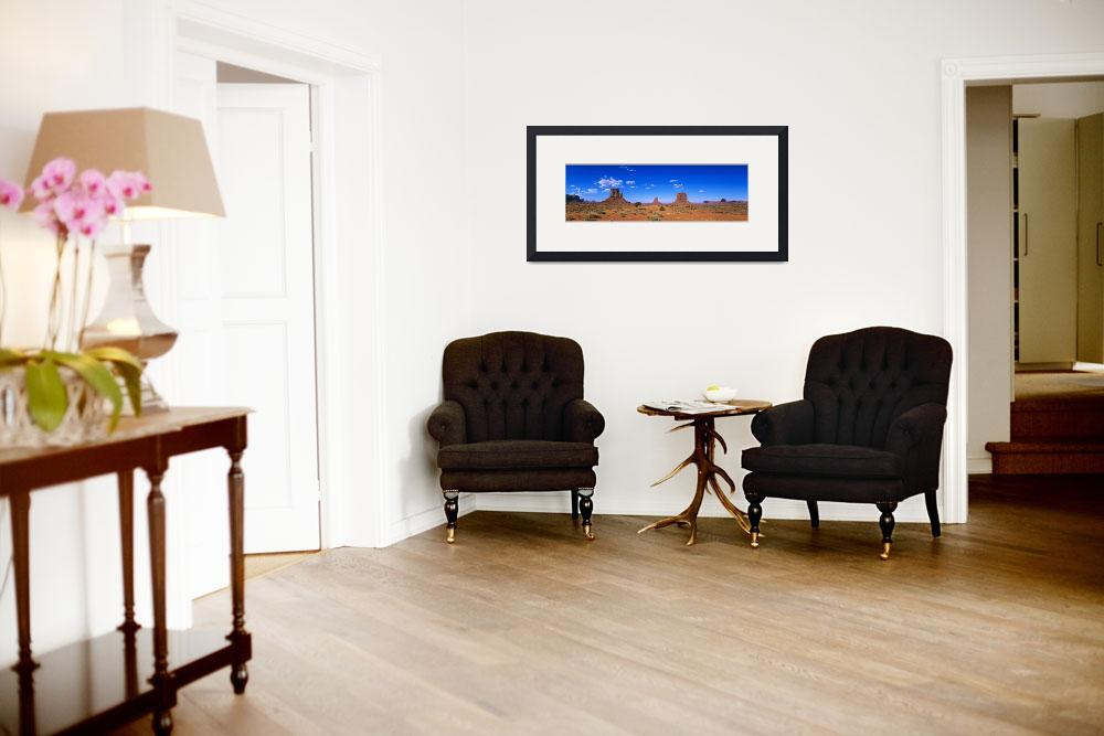 """""""Monument Valley Navajo Tribal Park&quot  by Panoramic_Images"""