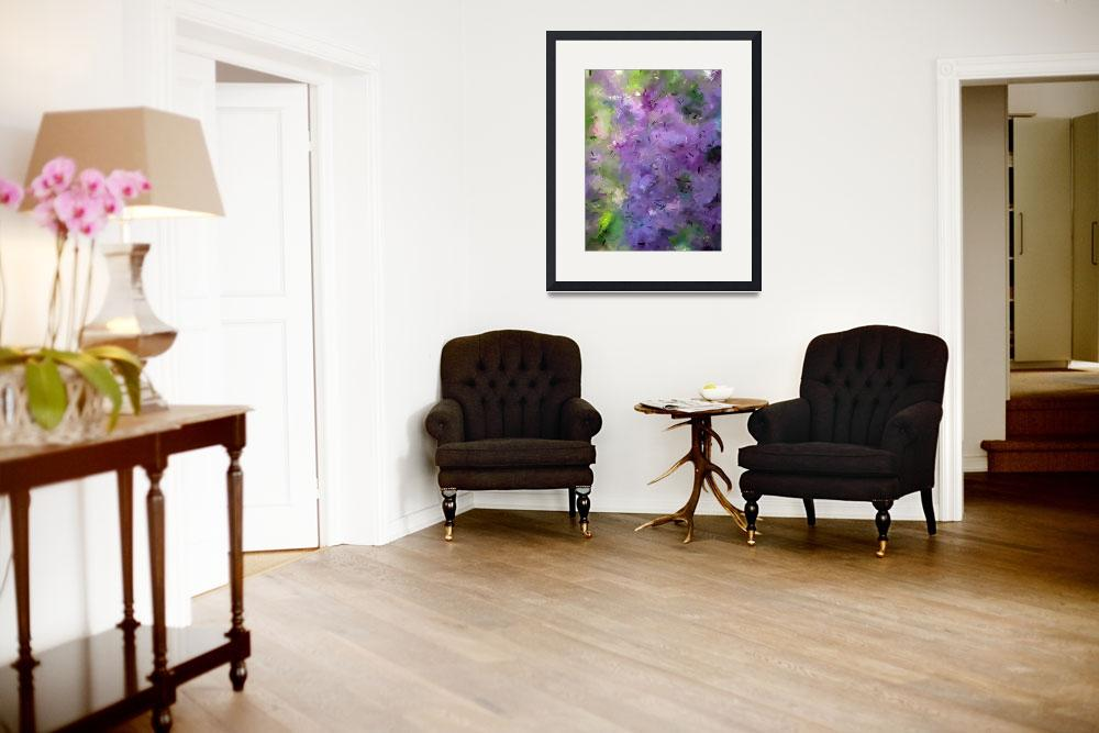 """""""""""Complimentary flowers""""""""  (2010) by MurGallery"""