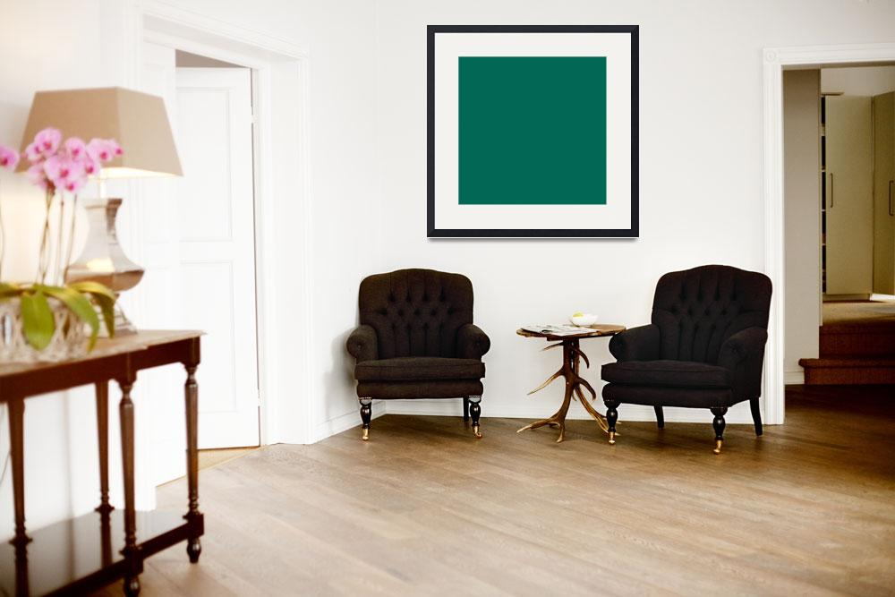 """Square PMS-336 HEX-006854 Green&quot  (2010) by Ricardos"