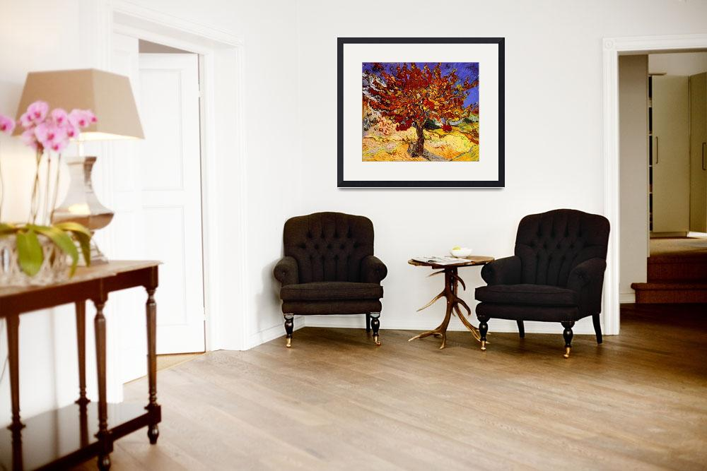 """""""Vincent Van Gogh Mulberry Tree Painting&quot  by masterpiecesofart"""
