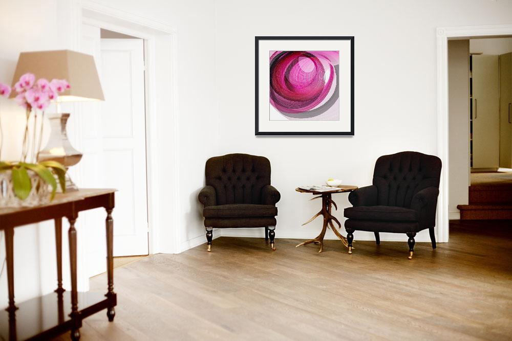 """""""Zen Enso - Rose&quot  (2016) by ModerneDesigns"""