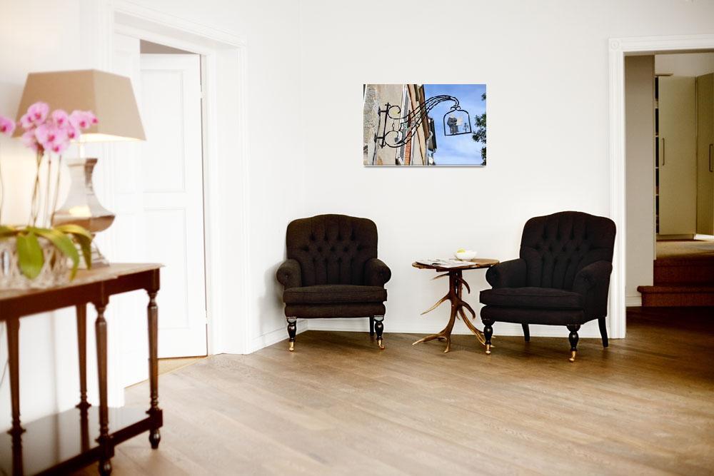 """Signboard Dom Perignon""  by BrianKegels"