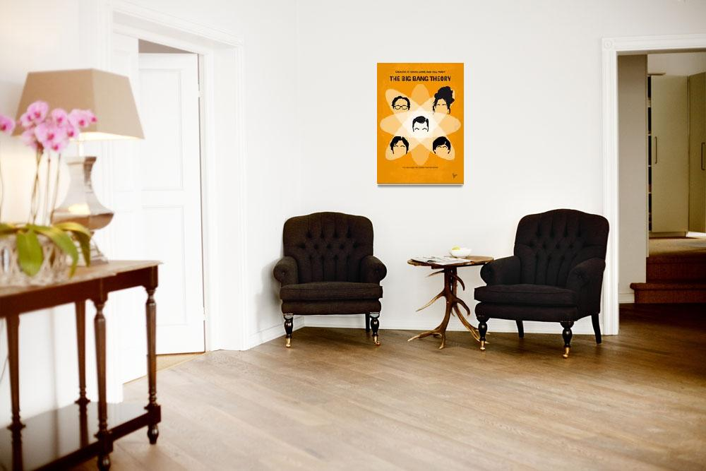 """""""No196 My The Big Bang Theory minimal poster&quot  by Chungkong"""