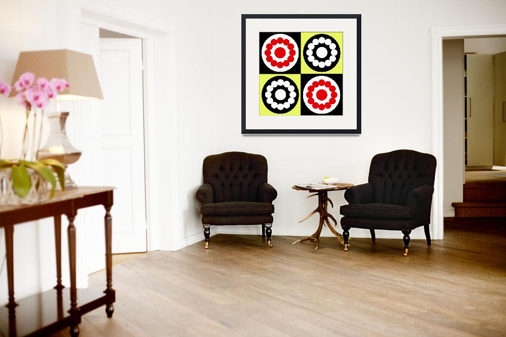 """""""Four Circles&quot  (2010) by isa"""
