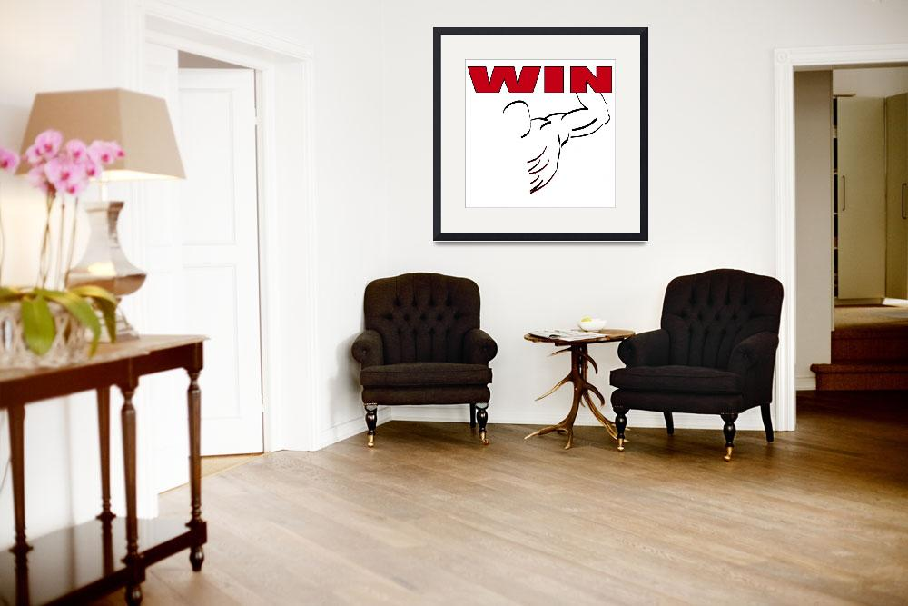 """WIN&quot  (2010) by NorcalArtist"