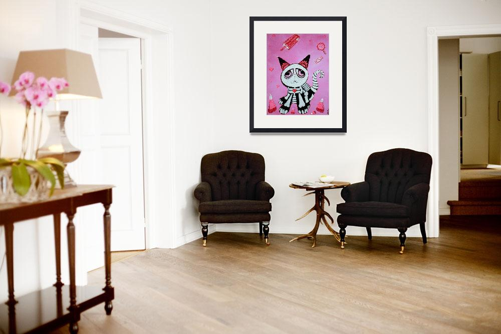"""""""Kitty Cat Candy""""  (2012) by ArtPrints"""