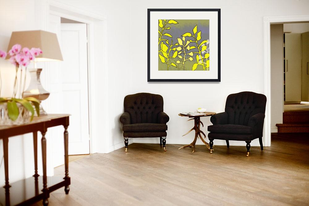"""""""Yellow Leaves&quot  (2010) by TuesdayMoon"""