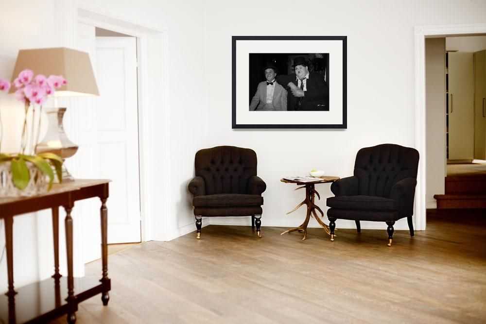 """""""Laurel and Hardy&quot  (2009) by dlstein"""