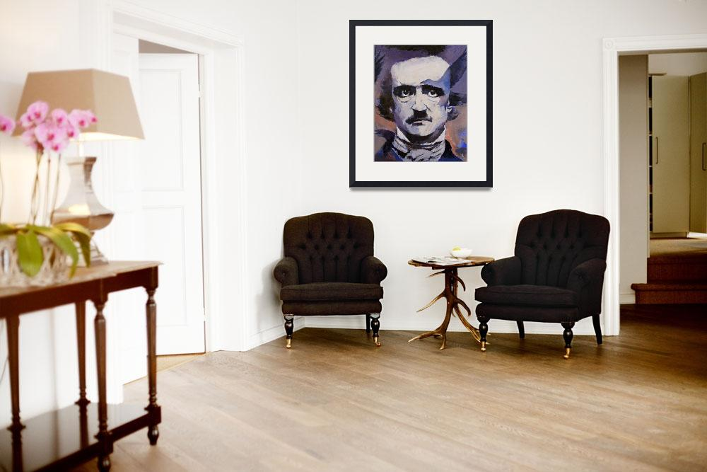 """""""Edgar Allan Poe&quot  by creese"""