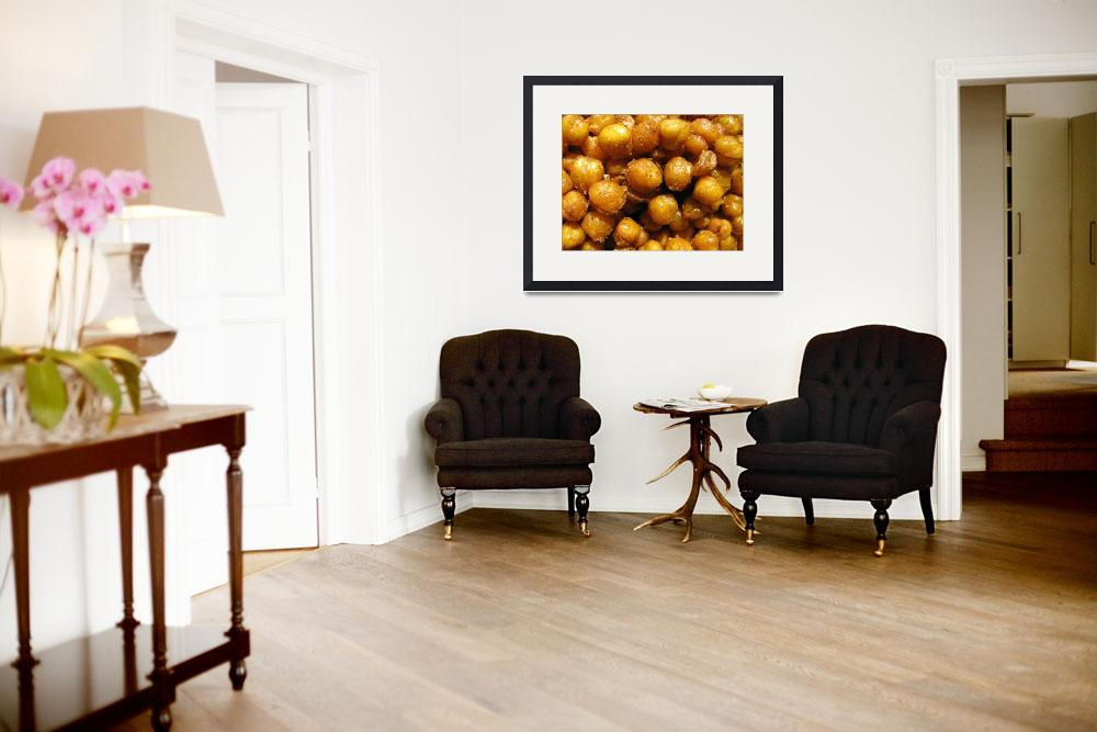 """""""Spicy Chick Peas&quot  (2010) by LindieRacz"""