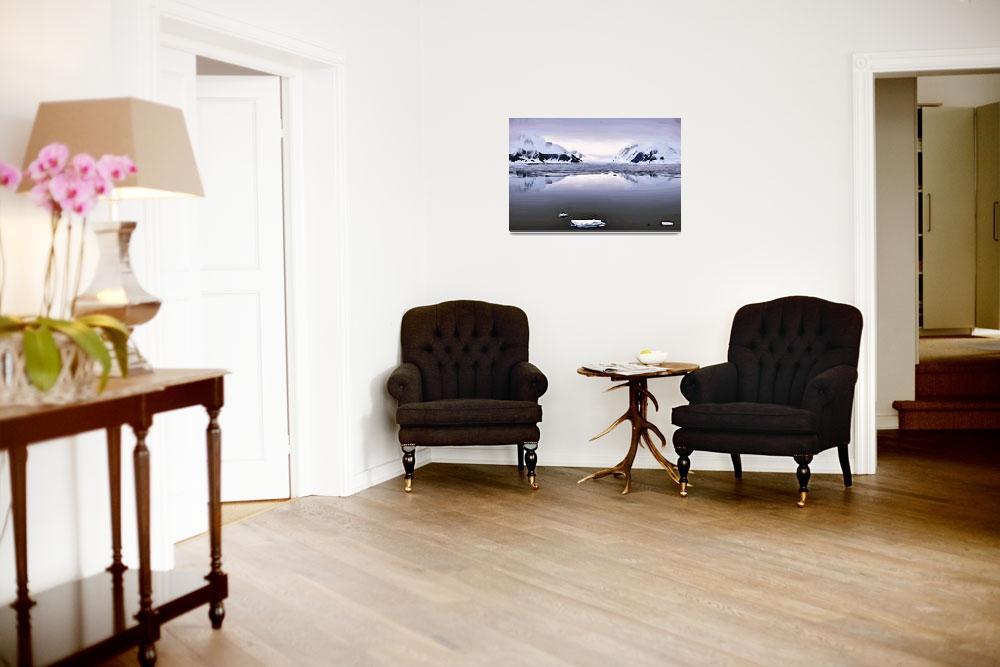 """Ironside Glacier""  (2012) by WallArtDeco"