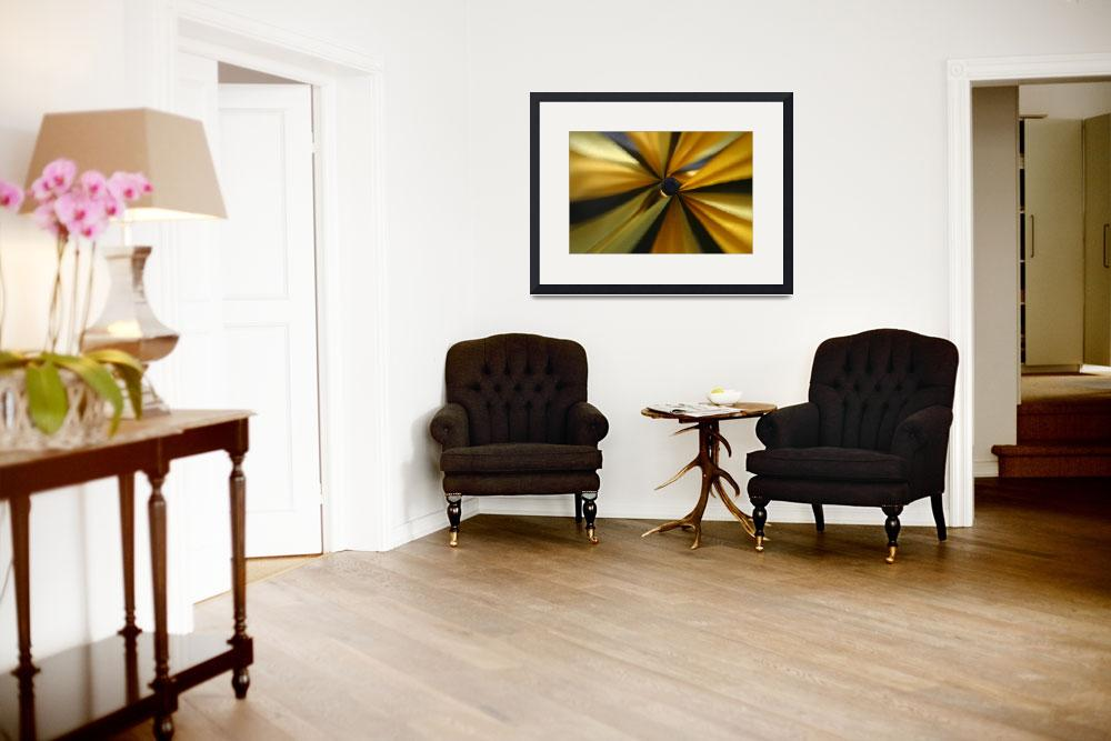 """""""abstract yellow&quot  (2008) by wondemrombb"""