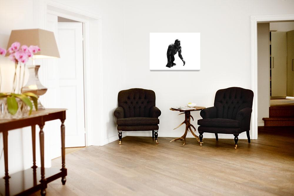 """""""gorilla toy&quot  (2009) by mikestanley"""