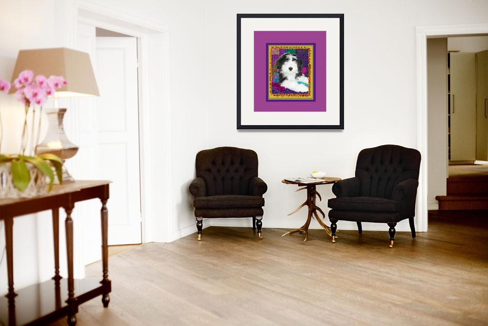 """""""Bearded Collie with stature&quot  (2009) by kring"""