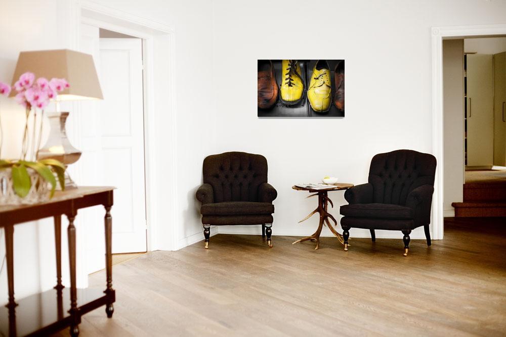 """""""Painted Shoes&quot  (2008) by paulasuterphoto"""