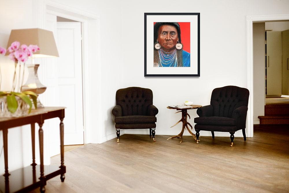 """""""Chief Joseph&quot  (2004) by DonGriffithArt"""