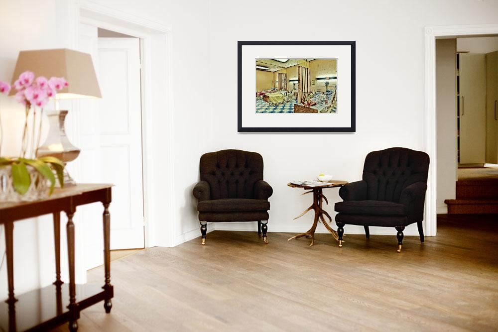 """""""Waiting Room 1&quot  (2012) by SkipNall"""