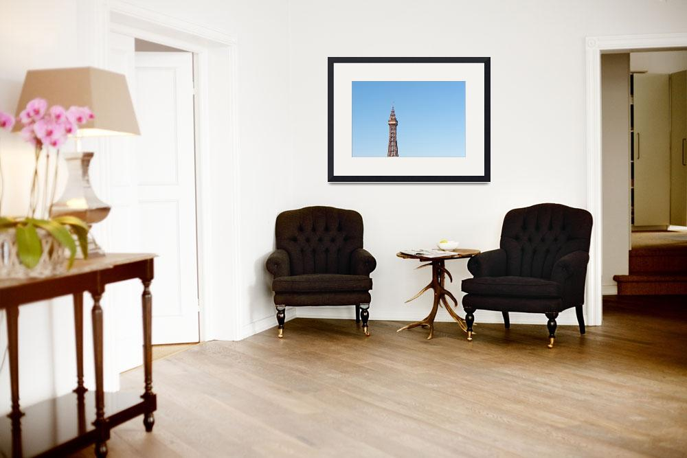 """""""Blackpool Tower&quot  (2010) by maxblack"""