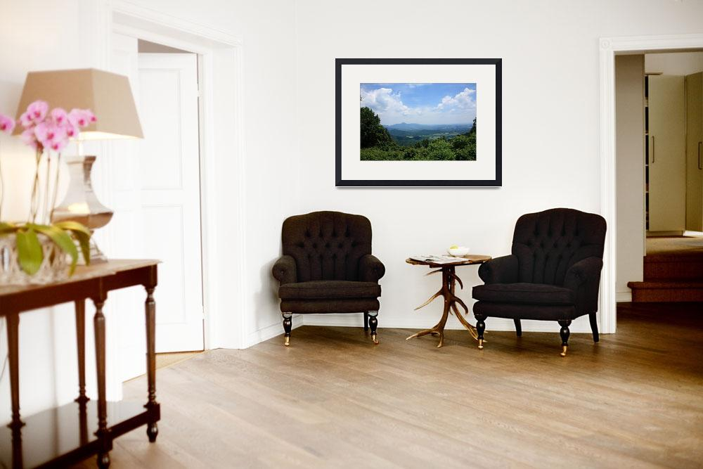 """""""Blue Ridge Mountains - Virginia&quot  (2009) by Ffooter"""
