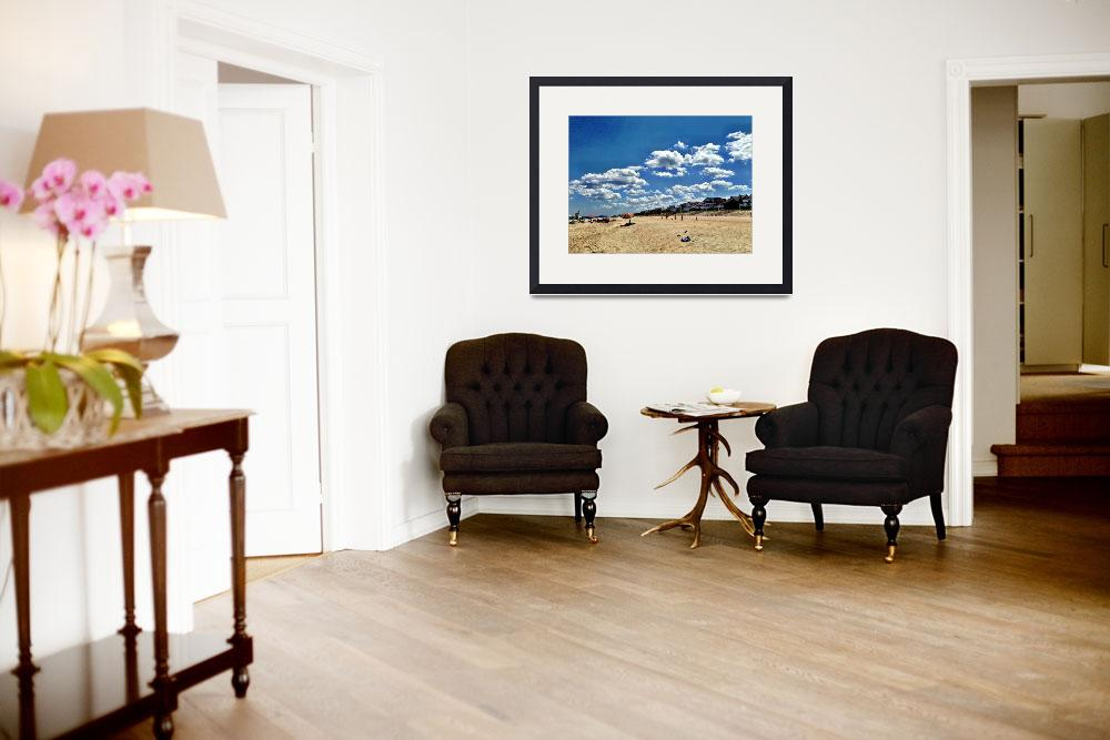 """""""Bethany Beach&quot  (2014) by chrismontcalmo"""