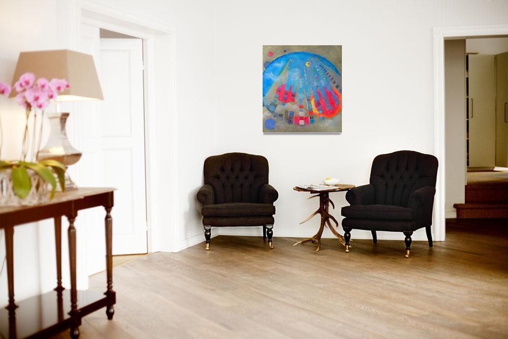 """Bubble Blue abstract by RD Riccoboni&quot  by RDRiccoboni"