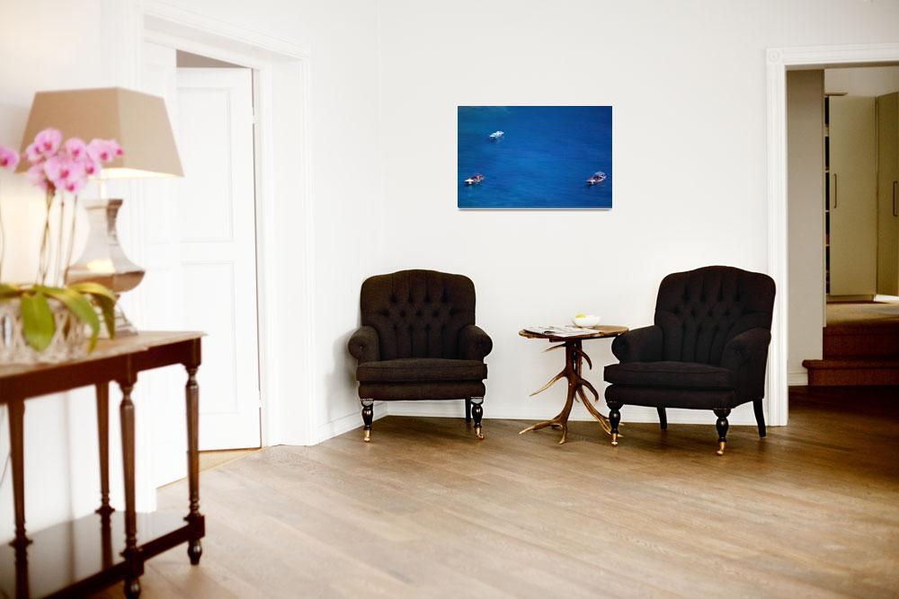 """Med Blue&quot  (2009) by PrestonPhotoArtStudio"