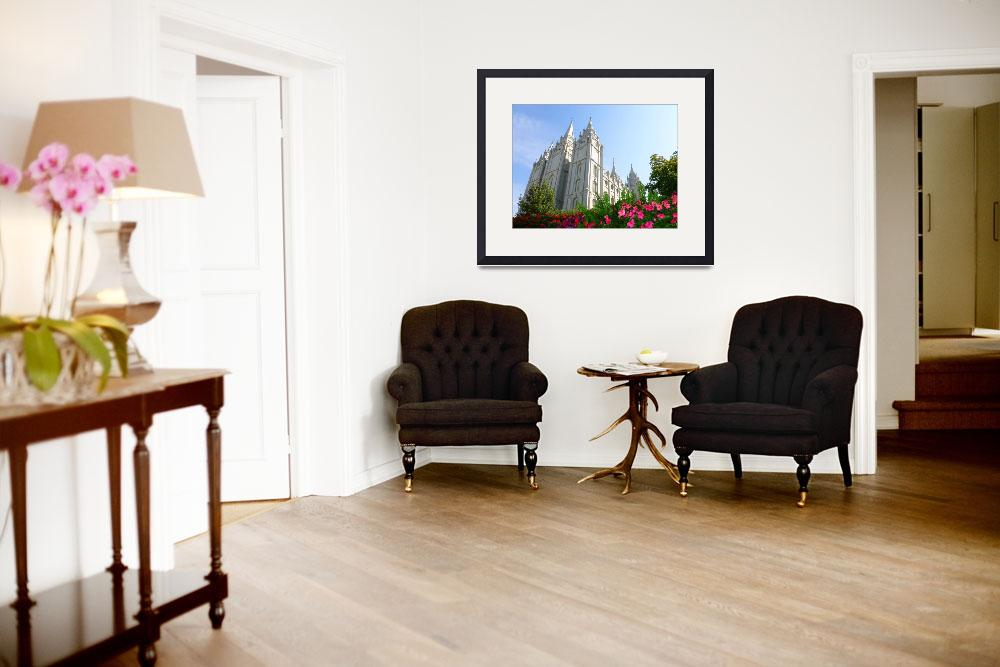 """""""Mormon Temple&quot  (2012) by joeyartist"""