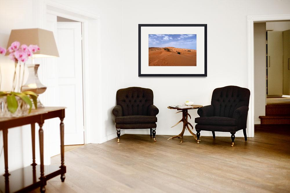 """""""Morocco, Desert landscape&quot  (2008) by dhome"""