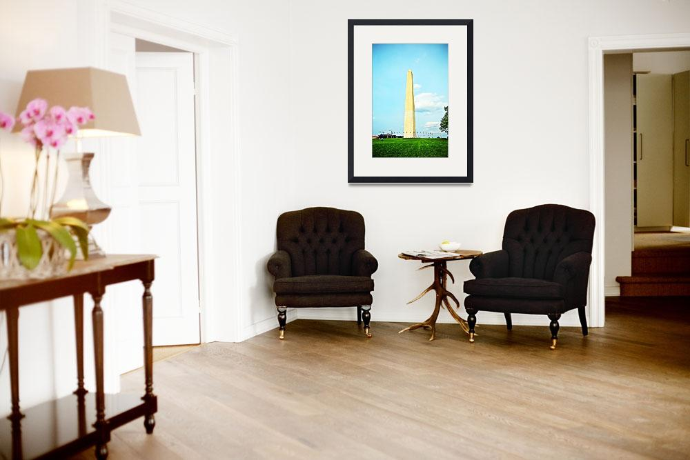 """""""Washington Monument&quot  (2015) by Hollagraphy"""