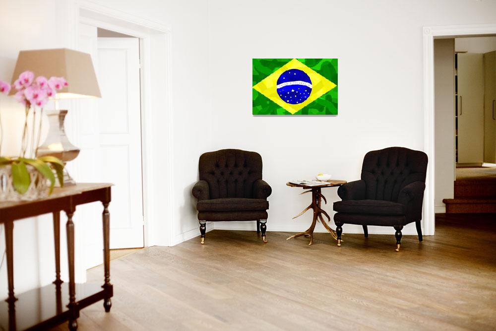 """""""Brazil Forever&quot  (2010) by ADDesigns"""