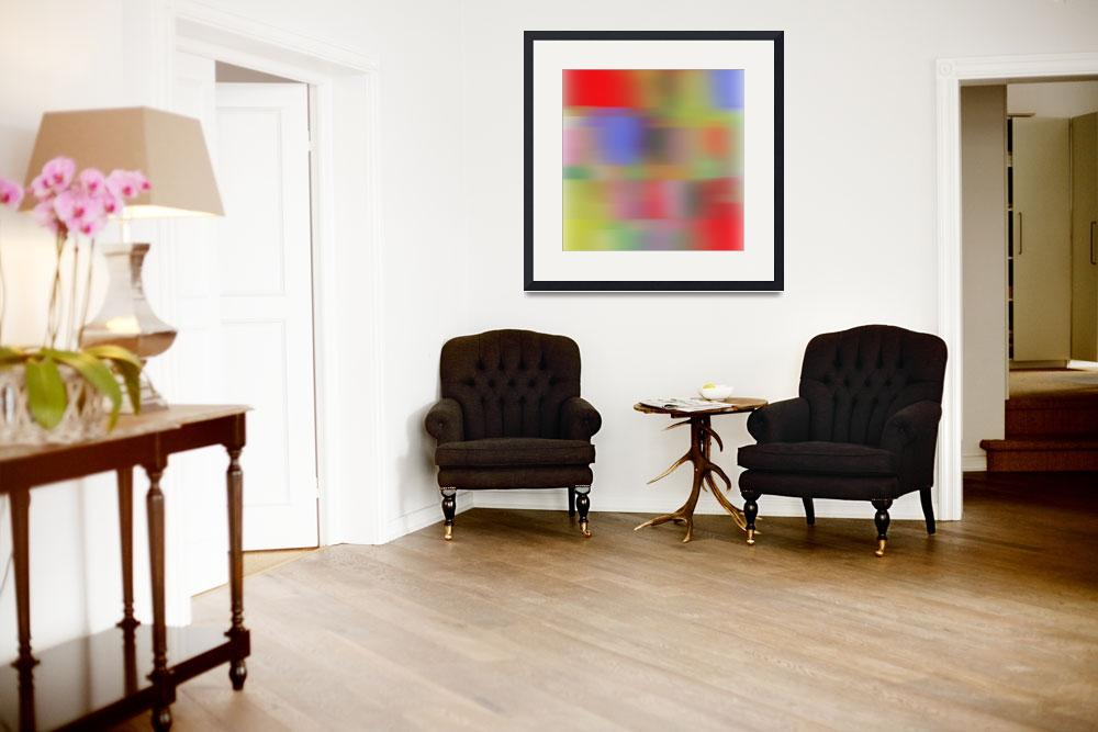 """""""3D Blurred Boundaries - Abstract Expressionism N32&quot  by Aneri"""