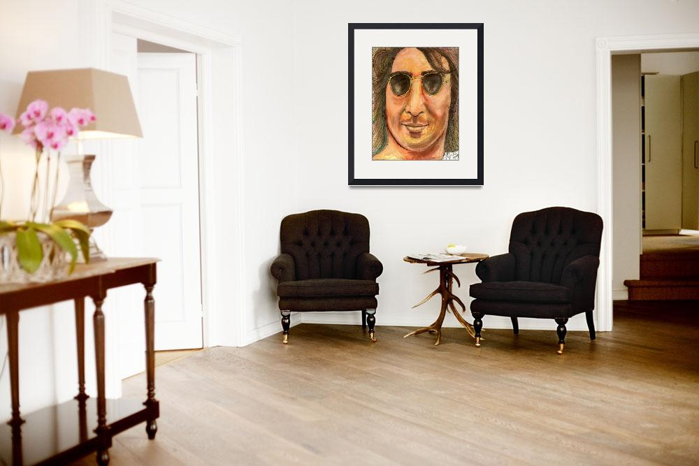 """""""Lennon""""  (2014) by ChrisCrowley"""
