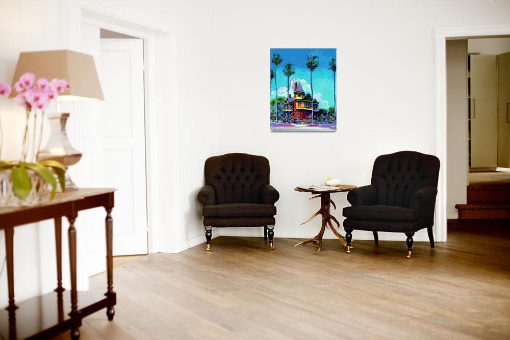 """""""Britt - Scripps House San Diego""""  (2006) by RDRiccoboni"""