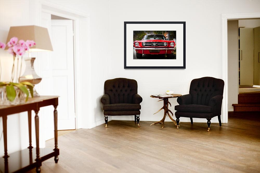 """""""Ford Mustang 65 """"The Red Pony""""""""  (2013) by felixpadrosa"""