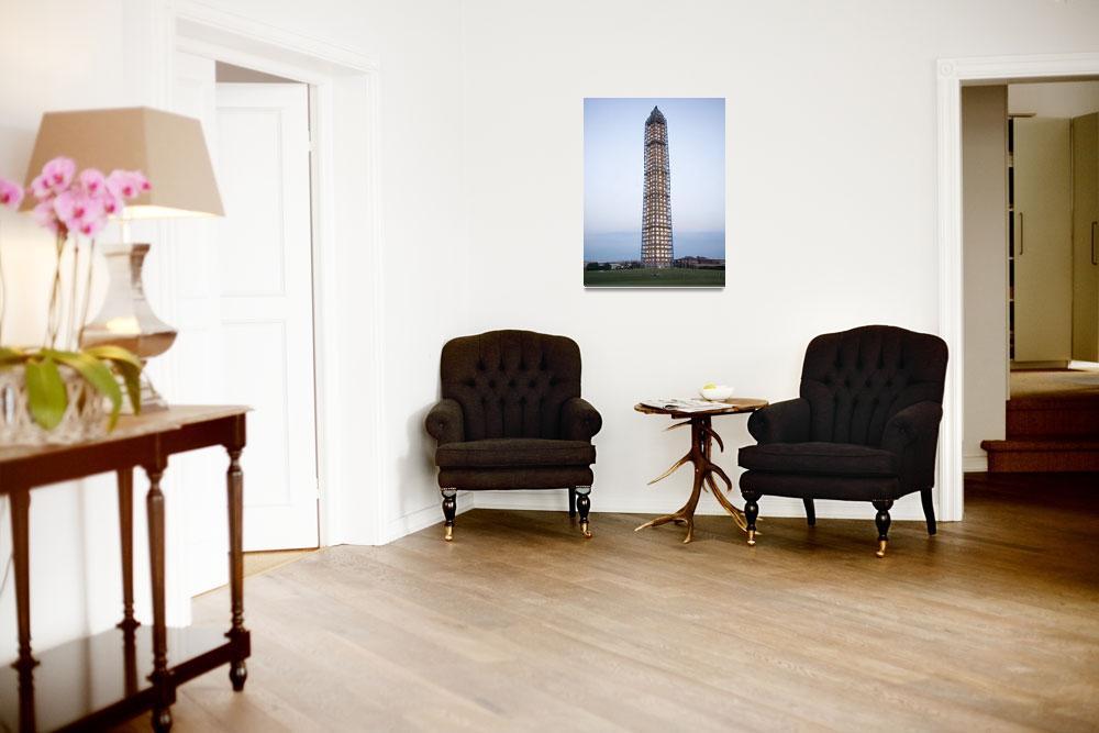 """Washington Monument twilight&quot  (2013) by TOMSHEA"