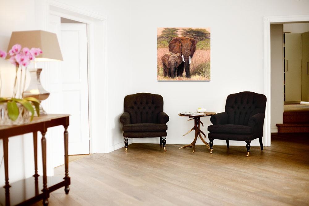 """Giants Of Kenya""  (2008) by CarolMcCarty"