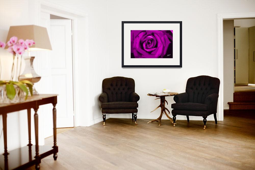 """""""Pink Rose Signed""""  (2012) by SouthIdahoPhoto"""