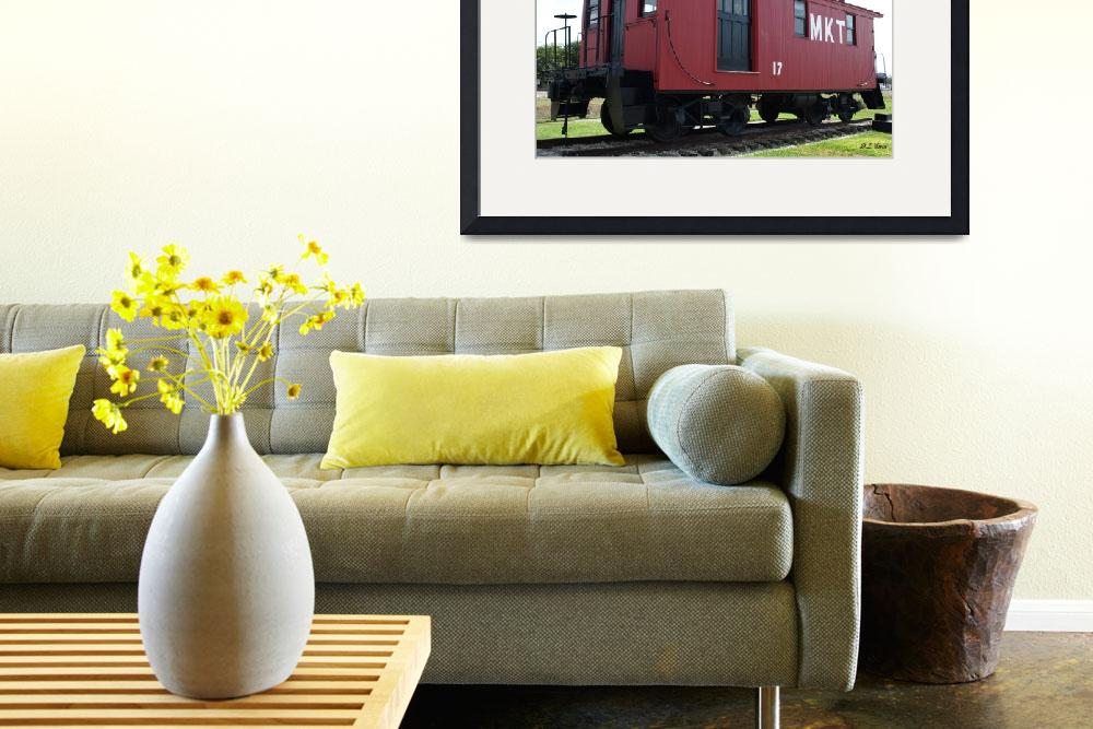 """""""Caboose Side&quot  (2009) by dlstein"""